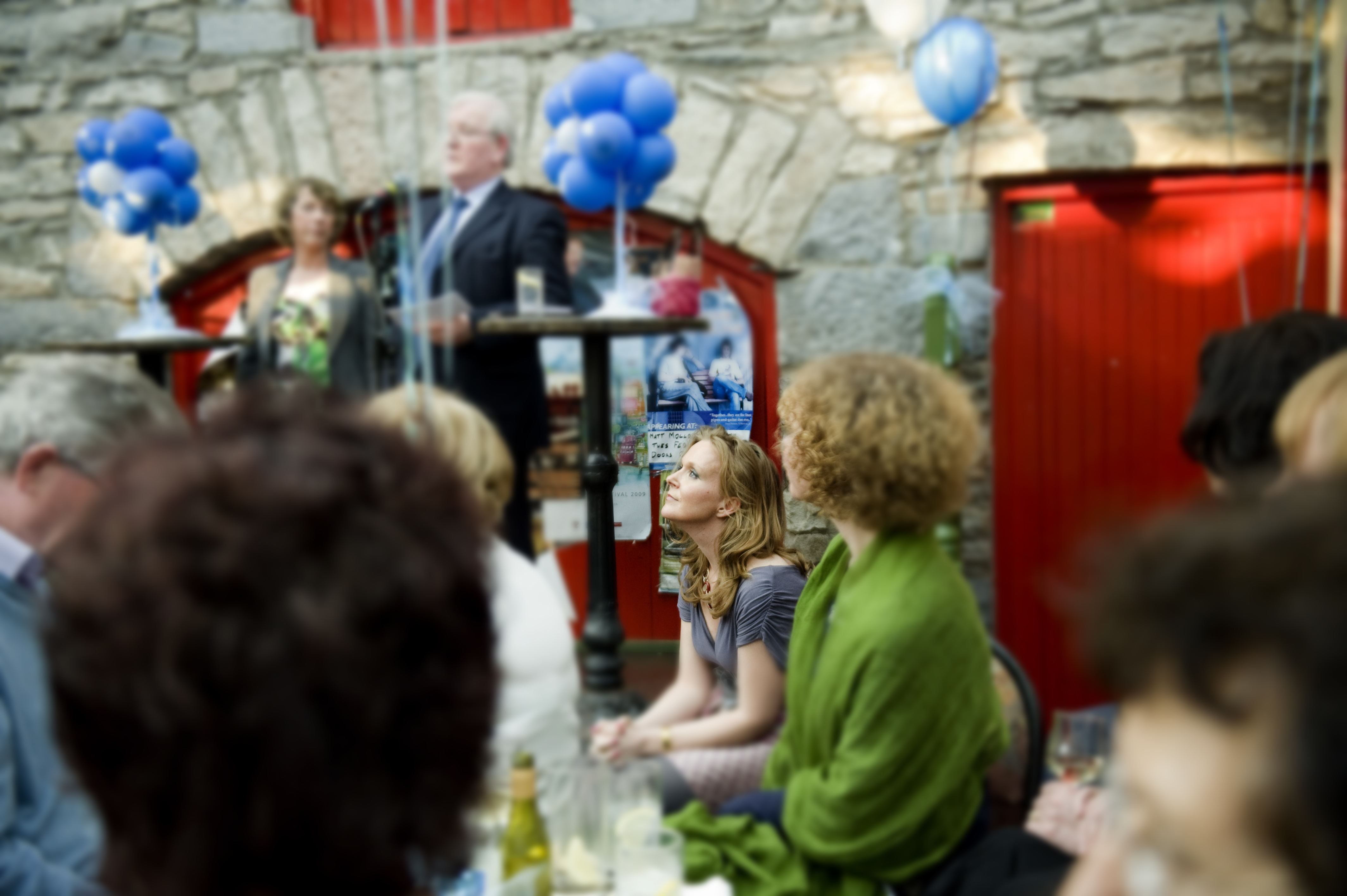 Launch of Take a Weight Off Your Mind in Westport